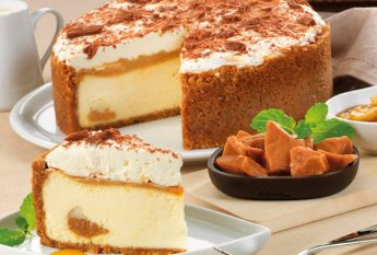 41734 Banoffee Cookie Cheesecake Pie